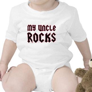 Meu tio Rocha Macacãozinho Para Bebê