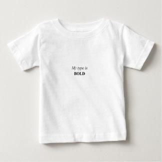 Meu tipo é corajoso camisetas