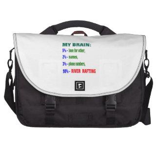 Meu transportar de rio do cérebro 90% mochila para laptop