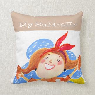Meu verão! travesseiros de decoração