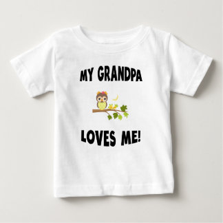 Meu vovô ama-me coruja t-shirt
