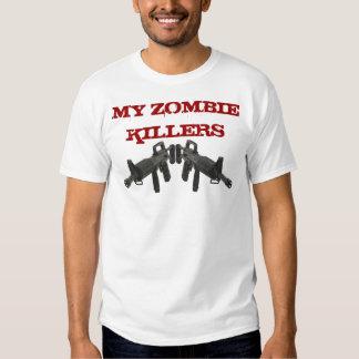 Meus assassinos M-16 do zombi T-shirts
