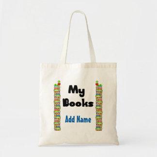 Meus livros sacola tote budget