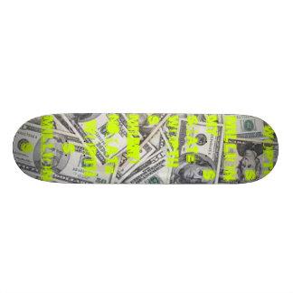 Meus milhões dos valores do skate