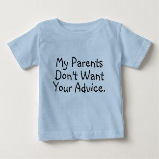 Meus pais não querem seu conselho - camisa
