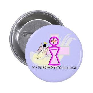 Meus primeiro cálice e anjo do comunhão santamente boton