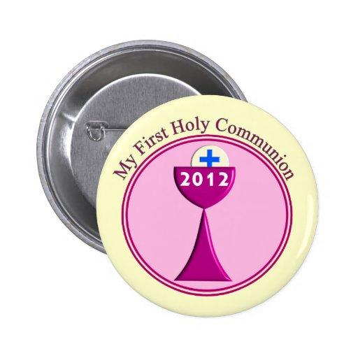 Meus primeiros presentes do comunhão santamente botons