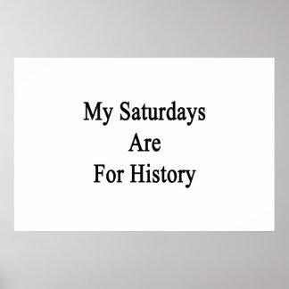 Meus sábados são para a história