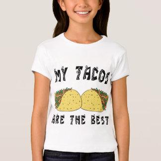 Meus Tacos são o melhor Tshirt