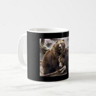 Meus ursos caneca de café