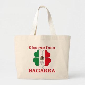 Mexicanos personalizados beijam-me que eu sou Saga Bolsa Para Compras