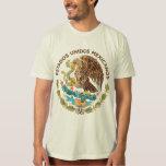 México - selo dos mexicanos dos unidos dos estados tshirt