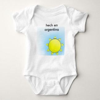 MI Argentina Body Para Bebê