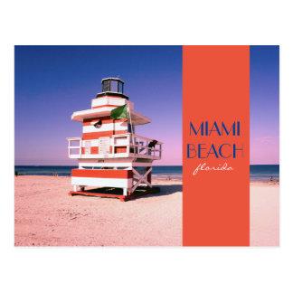 Miami Beach Florida #01 Cartão Postal