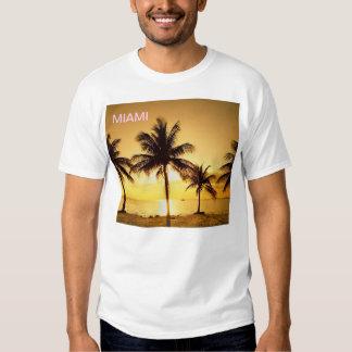 Miami Beach, Florida PIX DIFERENTE em CADA LADO! T-shirt