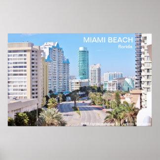 Miami Beach Pôster