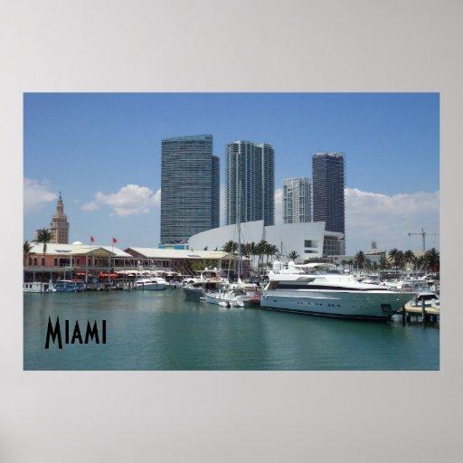 Miami bonito posteres