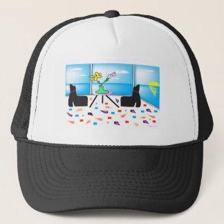 Miami colorido lunático Funky, gráfico Boné