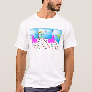 Miami colorido lunático Funky, gráfico Camiseta