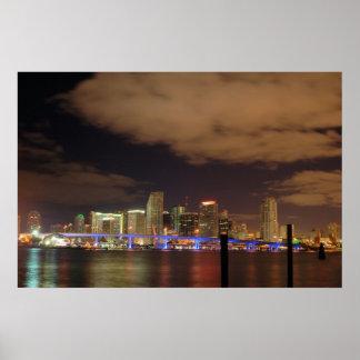 Miami do centro impressão