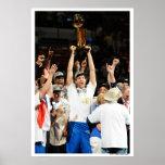 MIAMI, FL - 12 DE JUNHO: Dirk Nowitzki #41 do Poster