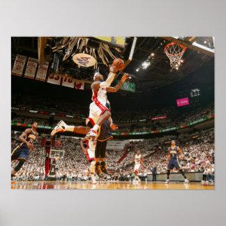 MIAMI, FL - 15 DE MAIO:  LeBron James #6 do Poster