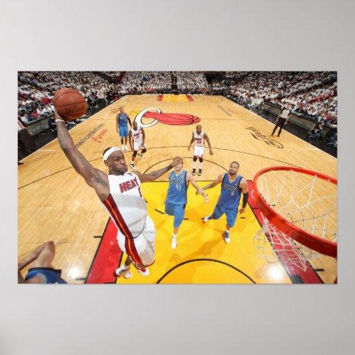 MIAMI, FL - 2 DE JUNHO: LeBron James #6 do Poster