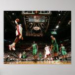 MIAMI, FL - 30 DE MAIO:  LeBron James #6 dos 3 Poster