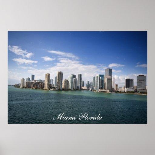 Miami Florida Pôsteres