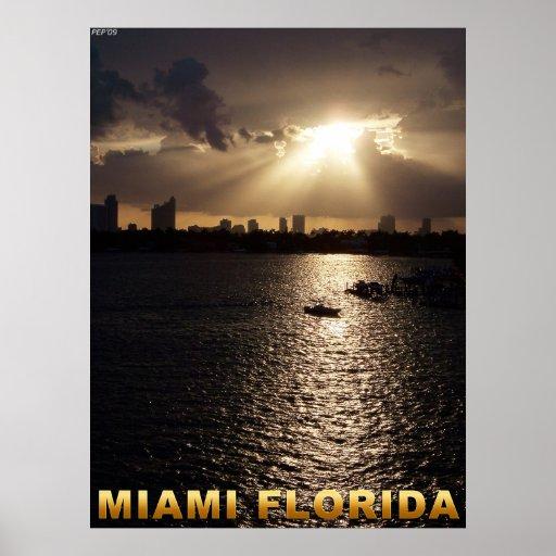 Miami, Florida Posteres