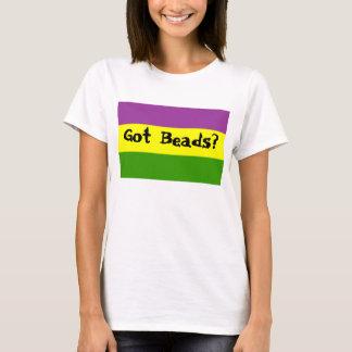 Miçanga obtida? camiseta