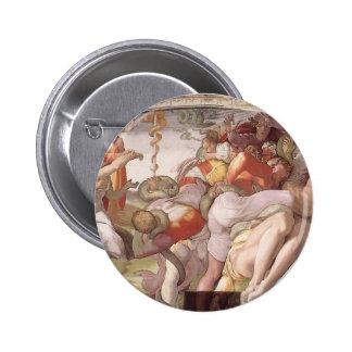 Michelangelo: A serpente de bronze Botons