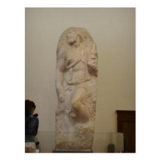 Michelangelo sumário, St Matthew o Evangelis Cartões Postais