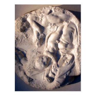 Michelangelo sumário, Tondo Taddei. centro por ist Cartões Postais