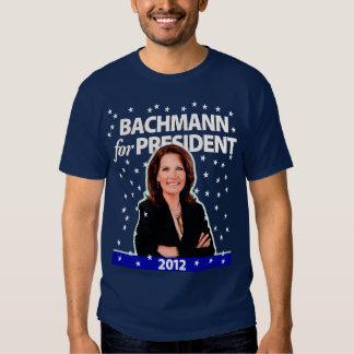 Michele Bachmann para o presidente. 2012. Camisetas