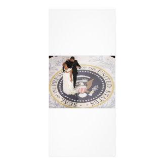 Michelle e Barack Obama Planfeto Informativo Colorido