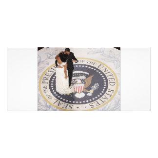 Michelle e Barack Obama Panfleto Informativo