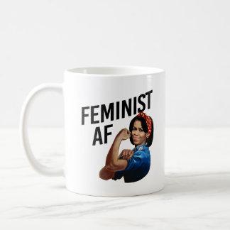 Michelle Obama - AF feminista -- Caneca De Café