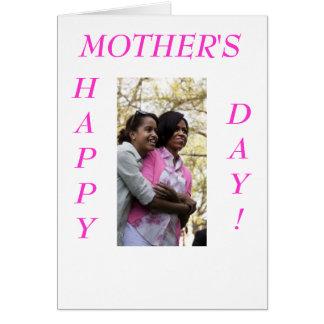 Michelle Obama - cartão 2 do dia das mães