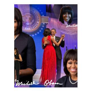 Michelle Obama Cartão Postal