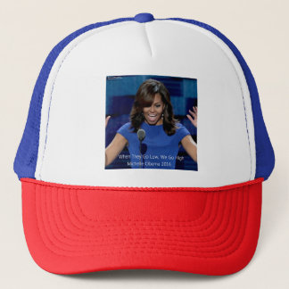 "Michelle Obama ""nós vamos altamente"" Collectible Boné"