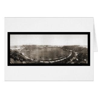 Michigan contra a foto 1907 da Universidade do Cartão