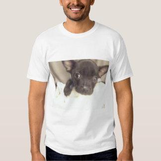 Mickey Prate o cão Tshirt