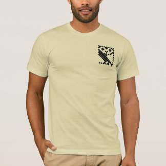 Micro coruja da BBC - preto pequeno Camiseta