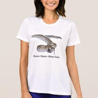 Micro-Fibra ocidental T das senhoras do cobra T-shirt