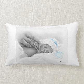 Micro travesseiro do sono do bebê almofada lombar