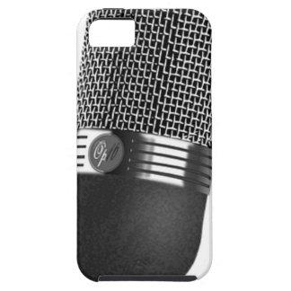 Microfone clássico capas para iPhone 5