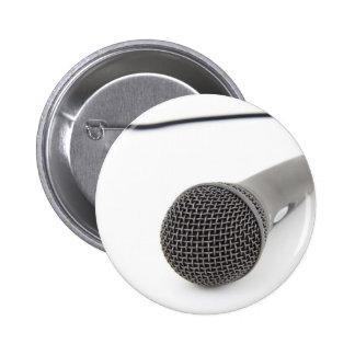 Microfone do estúdio bóton redondo 5.08cm