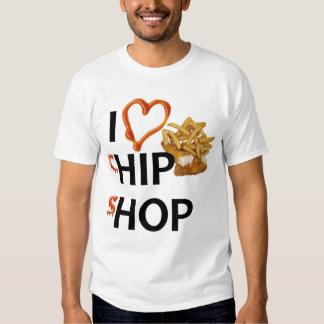 """Microplaquetas dos peixes """"n"""" - Hip Hop Camiseta"""