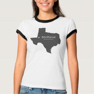 Midland Texas - minha cidade natal - camisa